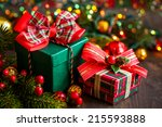 Christmas Gift Boxes With...