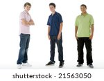 full length portrait of... | Shutterstock . vector #21563050