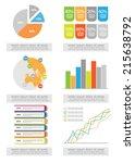 flat infographics | Shutterstock .eps vector #215638792