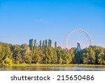 Landscape With Ferris Wheel ...