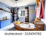 Cheerful Kids Room In Light...