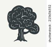 tree symbol | Shutterstock .eps vector #215656552