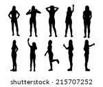 Set Of Various Woman...