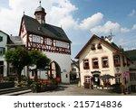 konigstein im taunus  germany ... | Shutterstock . vector #215714836