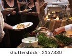 food being served buffet style...   Shutterstock . vector #2157330