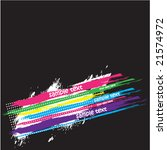 abstract retro grunge... | Shutterstock .eps vector #21574972