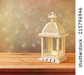 Decorative Lantern With Glowin...