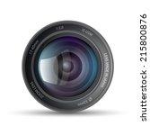 camera lens   Shutterstock .eps vector #215800876