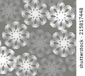 vector seamless lace pattern... | Shutterstock .eps vector #215817448