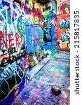 Colorful Designs In Graffiti...