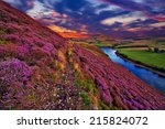 Colorful Landscape Scenery With ...