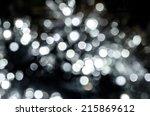 blur circle silver lights like