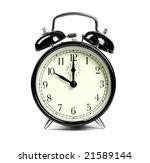 alarm clock | Shutterstock . vector #21589144