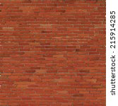 Brick Wall  Red Relief Texture...