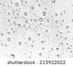 background of water drops on... | Shutterstock . vector #215922022