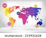 abstract creative concept... | Shutterstock .eps vector #215931628