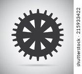 gears design over  gray...   Shutterstock .eps vector #215933422
