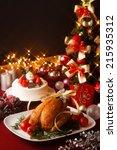 Christmas Themed Dinner Table ...