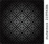 a pattern is geometry | Shutterstock .eps vector #215954386