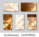 business cards or gift cards.... | Shutterstock .eps vector #215959846