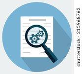 preparation business contract... | Shutterstock .eps vector #215968762