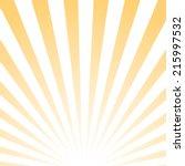 abstract poster  sunrise... | Shutterstock .eps vector #215997532