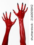Red Devil's Hands  Red Hands O...