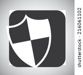 web icon over gray background...   Shutterstock .eps vector #216061102