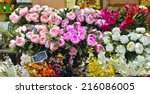Outdoor Flower Market In Nice ...