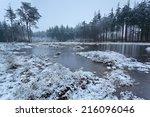 Frozen Lake In Winter...