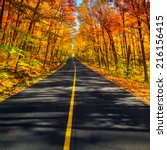 A Long Two Lane Rural Road...