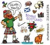 Bonnie Scotland Cartoon...