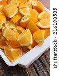 oranges fruits | Shutterstock . vector #216198535