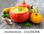 Soup In A Pumpkin With...