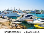 The Numerous Fishing Boats And...