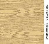 beige color wood texture...   Shutterstock .eps vector #216266182