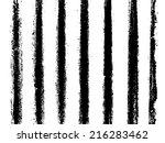 set of grunge textures | Shutterstock .eps vector #216283462