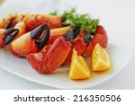 Boiled  Crab Claws With Lemon...