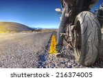 Road Crossing The Death Valley  ...