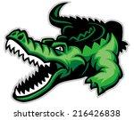 crocodile | Shutterstock .eps vector #216426838