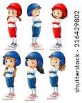 illustration of the six... | Shutterstock . vector #216429802