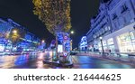 paris   december 2  2012 ... | Shutterstock . vector #216444625