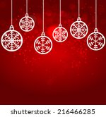 abstract beauty christmas and... | Shutterstock .eps vector #216466285