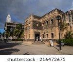 Stone Town  Zanzibar   August...