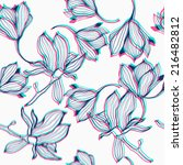 floral pattern. | Shutterstock .eps vector #216482812