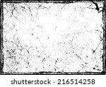 grunge texture. vector...   Shutterstock .eps vector #216514258