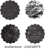 set of grunge stamp  | Shutterstock .eps vector #216518575