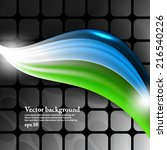 eps10 vector abstract elegant...   Shutterstock .eps vector #216540226