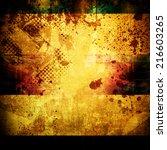 grunge background | Shutterstock . vector #216603265