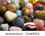 set of colorful semiprecious... | Shutterstock . vector #21669022
